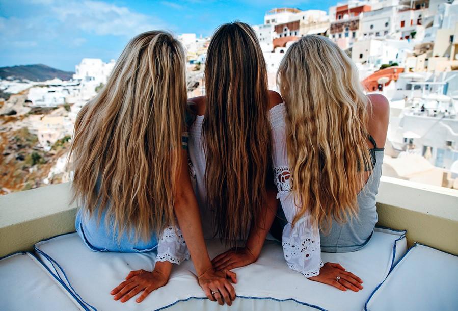 Когда красить волосы после моря